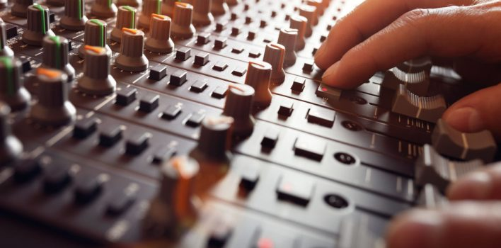 Profesjonalny sprzęt do studia nagraniowego